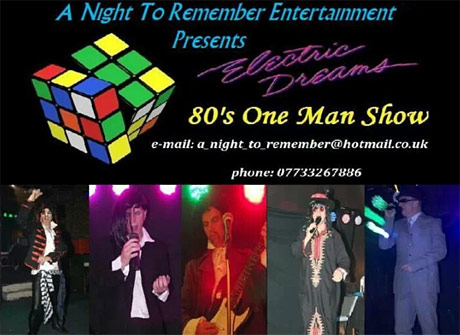 1980s theme night in manchester and cheshire disc jockey for hire